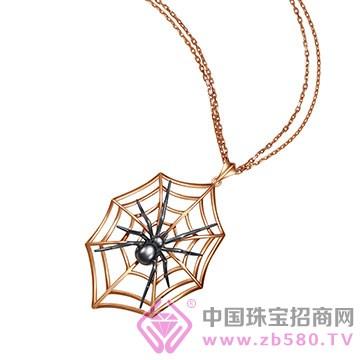 """ADK""""Special spider""""系列K金吊坠"""