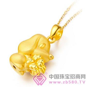中国金楼-黄金吊坠03