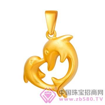 中国金楼-黄金吊坠05