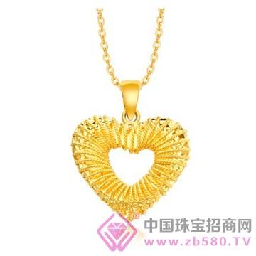 中国金楼-黄金吊坠11