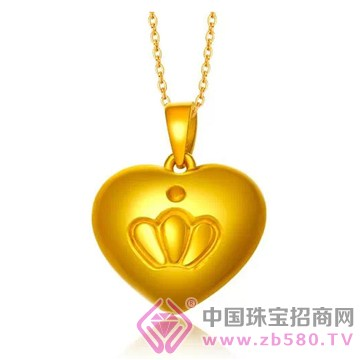 中国金楼-黄金吊坠12