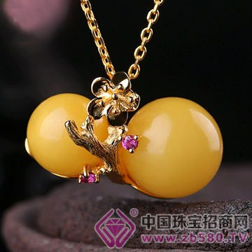三世缘珠宝-琥珀蜜蜡挂件12
