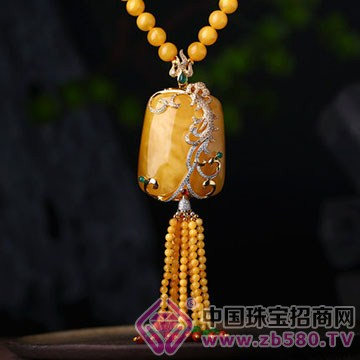 三世缘珠宝-琥珀蜜蜡挂件15