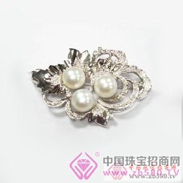 珍世缘-珍珠胸针01