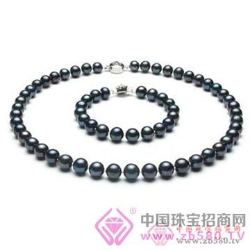 珍世缘-黑珍珠项链01