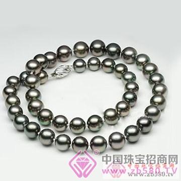 珍世缘-黑珍珠项链02