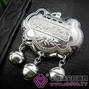 张银匠-纯银宝宝锁包04