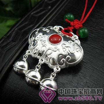 张银匠-纯银宝宝锁包05