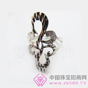 爱吉银饰-纯银戒指11