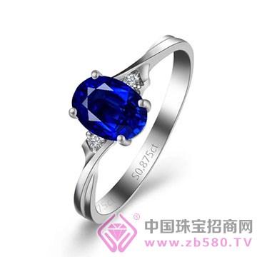 金喜缘-蓝宝石戒指09