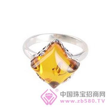 欢喜殿珠宝-琥珀戒指01