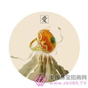 欢喜殿珠宝-蜜蜡戒指01