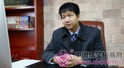 湖南科力鑫墙纸情况总经理张实业在介绍卫星广德哪里有学做珠宝的图片