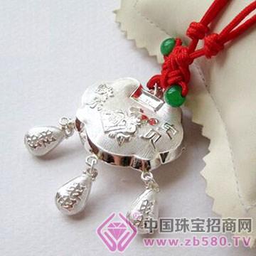百年老银坊-宝宝银锁包01