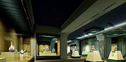 艺术,宗教等领域,在其展柜设计上大多以复古,文雅等设计手法,着力体现
