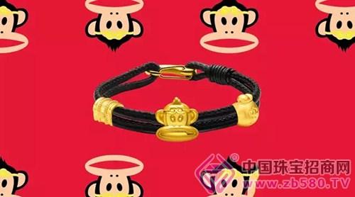 """潮宏基:大嘴猴化身""""齐天大圣""""大闹新春"""