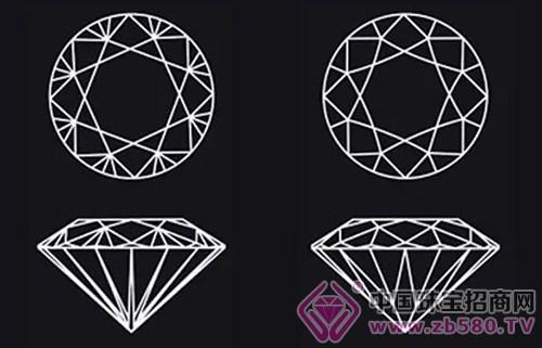 钻石手绘矢量图