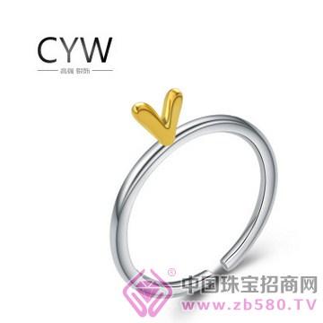 CYW-纯银戒指02