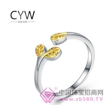 CYW-纯银戒指03