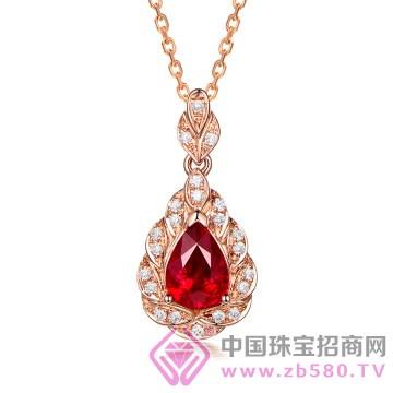 米莱珠宝-红宝石吊坠02
