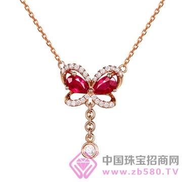 米莱珠宝-红宝石吊坠03