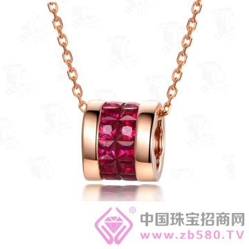 米莱珠宝-红宝石吊坠04