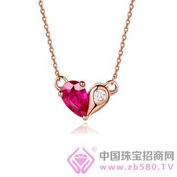 米莱珠宝-红宝石吊坠05