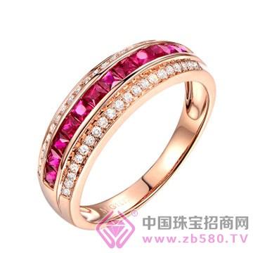 米莱珠宝-红宝石戒指01