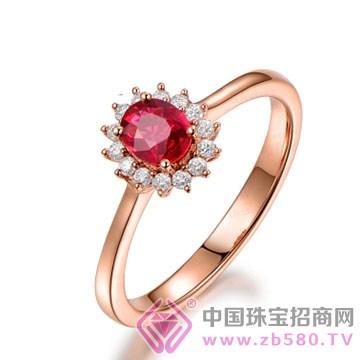 米莱珠宝-红宝石戒指02