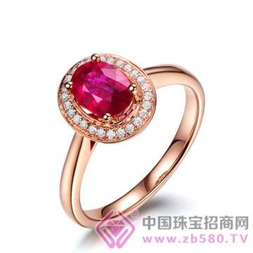 米莱珠宝-红宝石戒指03