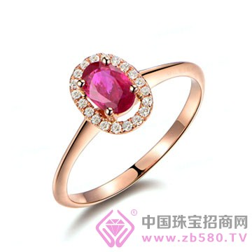 米莱珠宝-红宝石戒指04
