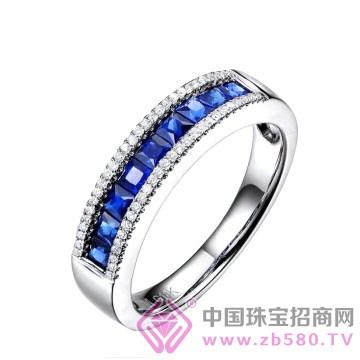 米莱珠宝-蓝宝石戒指01