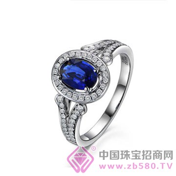 米莱珠宝-蓝宝石戒指07