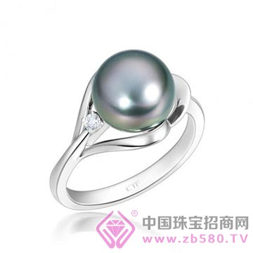 周大福-【鹊爱】系列珍珠戒指