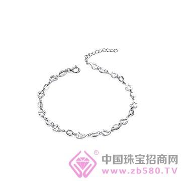 百瑞祥珠宝-铂金手链01