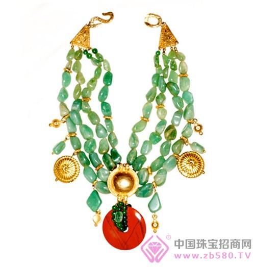 majorelle店铺设计过特别系列珠宝.