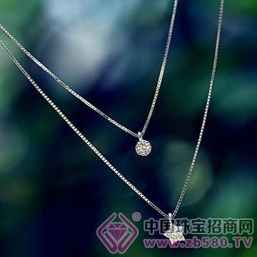 艾诺银饰-纯银项链(2)