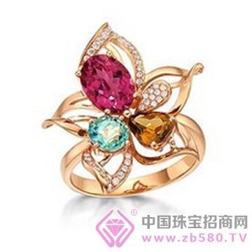 粤迪首饰-彩宝戒指06