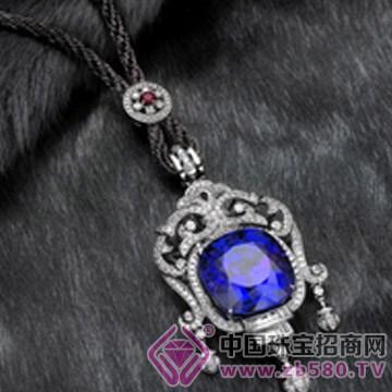 千骄锦-宝石项链02