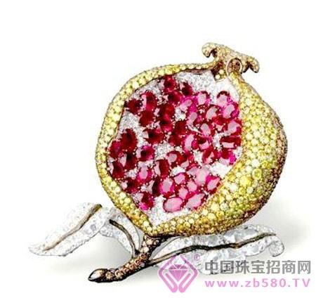 清新可爱的水果珠宝(图)