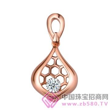 蒂尊珠宝蜜恋钻石吊坠系列