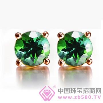 周武正王珠宝-宝石耳钉01