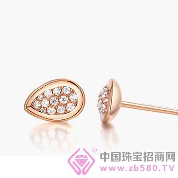 周武正王珠宝-钻石耳钉01