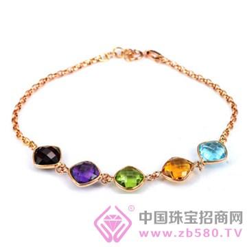 皇家蓝彩宝-宝石手链01