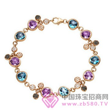 皇家蓝彩宝-宝石手链03