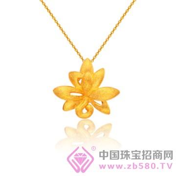 莲七珠宝-黄金吊坠01