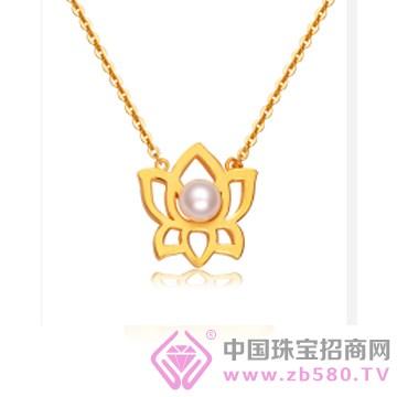 莲七珠宝-黄金吊坠02