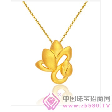 莲七珠宝-黄金吊坠03