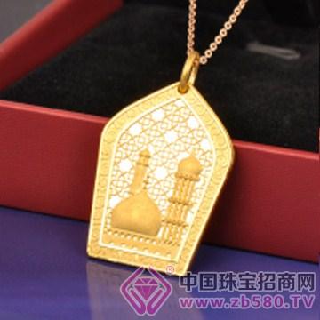 莲七珠宝-黄金吊坠05