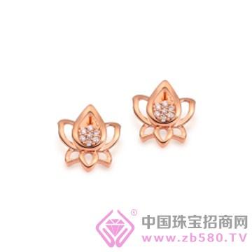 莲七珠宝-钻石耳钉01